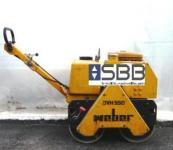 Walze Duplex Weber DVH550 +Wassertank 350kg