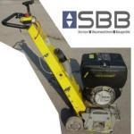 Betonfräse Von Arx VA25 S Diesel Fräsbreite 25cm / 117kg