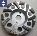 Diamantschleifteller Ø125mm AB Turbo