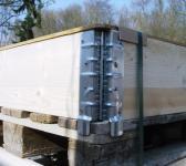 Palettenrahmen Holz faltbar ca.120x80x20cm