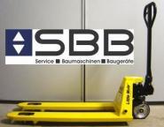 Handgabelhubwagen 2000 kg  L=1.20m Hub=10cm