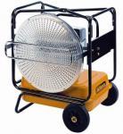 Heizung Infrarot-Strahler Wilms Mini VAL Öl 32KW