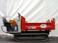 Kettendumper Muldenkipper Kubota KC100 Gewicht 850kg