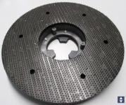 Klettteller Auflage Ø400mm  für Pads