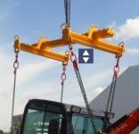 Kran Lastaufnahmemittel H-Traverse bis 2to Kettenlänge 2,5m