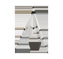 Kurbelstativ Geo-Fennel FS 12   2,44m