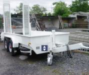 LKW-Anhänger-Tandem 4.0x1.9x0.40m Nutzlast 7700kg