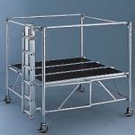 Fahrgerüst Layher Staro Rollbock 1.9x1.9m Arbeitsh. 2,8-3,9m