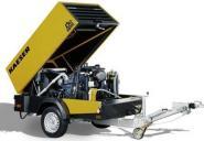 Kompressor Kaeser M45 4,2m³/min 10bar mit W- Abscheider