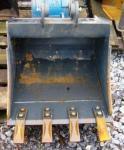 Tieflöffel für 3,5 to/5 to Bagger B=60cm Zähne SWE03