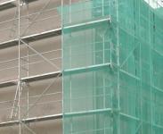 """Bauschutznetze 2 x 10 m""""Grün"""" Maschenweite 10x10 cm"""