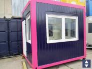 Pförtnercontainer 3 x 2,4m
