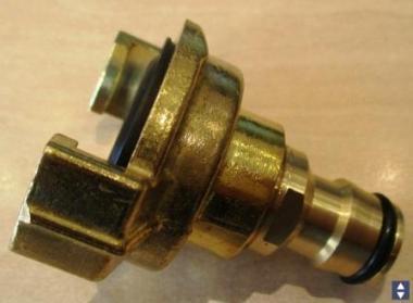 """Adapter 1/2"""" Schnellkupplung auf Bajonett"""