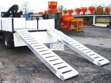 Auffahrrampe Baytec B36/50  3.65mx50cm 2Stück=Tragkraft 5,0t