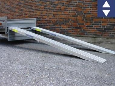Mauderer Alu Auffahrrampe Länge 3m klappbar max.400/800kg