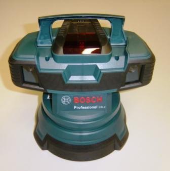 Bodenprüflaser Bosch GSL 2 zur Prüfung der Bodenebenheit