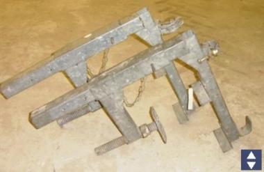 Brüstungsklammern 1Satz (2 Stück)