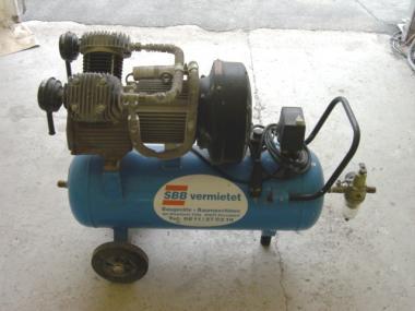 Kompressor Elektro 10bar 410l/min 400V/3KW