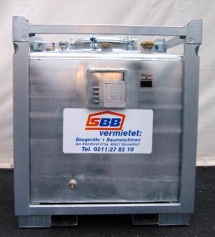 Heizöl Tank Metall doppelwandig OTTO ASF1000 DW