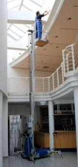 Personen-Lift PH900 AH=9.4 / SH=7.4m Nutzl. 135kg