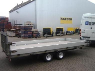 PKW Transportanhänger 4.3x2.0x0.20m Überl.Nutzlast 2.15to