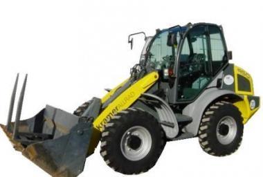 Radlader Kramer 950 Gewicht 4700kg