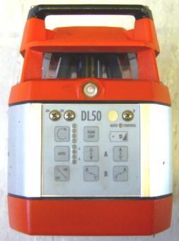 Rotationslaser Glunz DL50 Reichweite bis max 150m