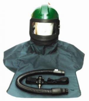 Sandstrahlschutzmaske Nova 2000 mit Belüftung