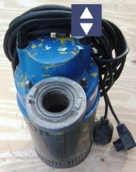 Pumpe P800   2HM=40m³/h  50mm/C  230V (Trübwasser)