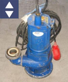 Pumpe SPT SPF50 50mm/C 230V (Trübwasser)
