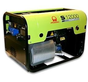 Stromerzeuger 9,5KW Benzin S12000 1x16A 3x230V E-Start