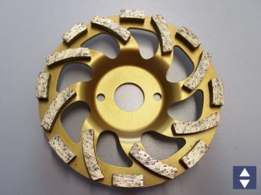 Diamantschleifteller für Beton Ø125mm
