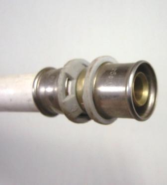 Pressbacke TH Kontur 16mm für Verbundrohr