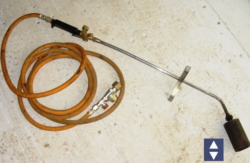 Dachpappbrenner / Anwärmbrenner Einflammig 1 x 55/65mm