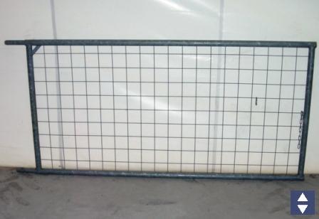 Dachschutzwand DrahtschutzgitterL=2m H=1m