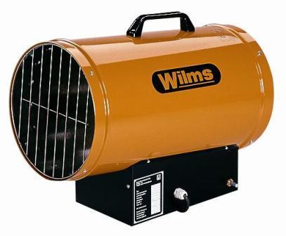 Gasheizgerät Wilms GH25M Handzündung 23KW