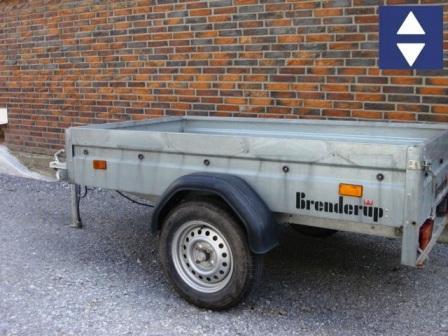PKW Anhänger  2x1x1.6m ungebremst Nutzl.625kg