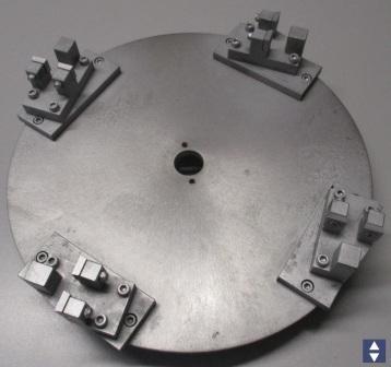 HM-Fräsplattenteller für Klebereste