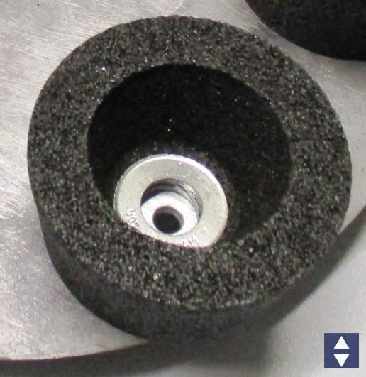 Korund-Schleiftopf K16  Ø110x60mm