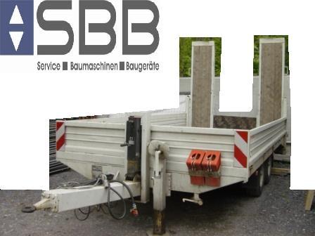LKW-Anhänger-Tandem 5.03x2.47x0.40m Nutzlast 7520kg