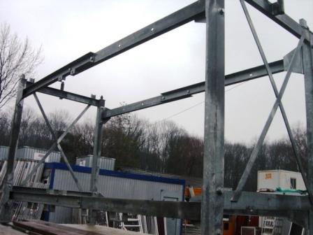 Untergestell 2.20m hoch für  Mauerlift Max. Standhöhe 7,8m
