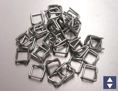 Metallschnallen 16mm 1000 Stück = 1VE