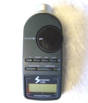Schallpegel Messgerät Sobond Labs 33-2055CE (50-126dB)