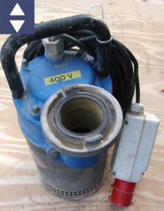 Pumpe P1000-01N 5HM=64m³/h 75mm/B 32A /2.2KW (Schmutzwasser)