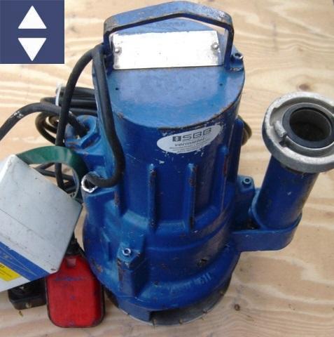 Pumpe Flygt Typ254  50mm/C  230V (Trübwasser)