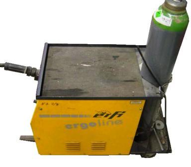 Schweißgerät Schutzgas MIG/MAG Ergoline 170
