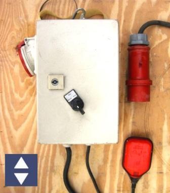 Schwimmerschalter für Wasserabsenkung Pegelsteuer.KU32