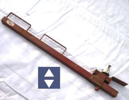 Geländerhalter Spundwand Klemmbereich 8-30mm Höhe=1m