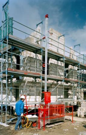 Superlift Bauaufzug senkrecht bis 6m max. 200Kg