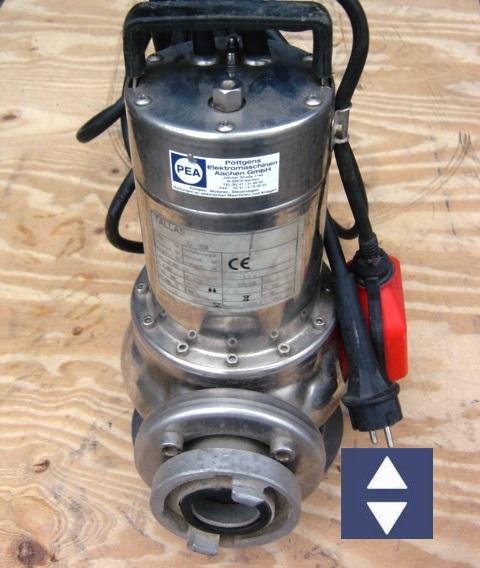 Pumpe PEA AV350 50mm/C  230V (Trübwasser)